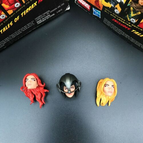 "Marvel Legends X-Men Stepford Cuckoos 3 Heads For 6/"" Loose Action Figure"
