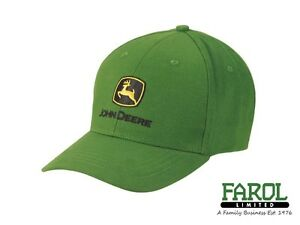 Genuine-John-Deere-Logo-Green-Baseball-Cap-Adult-Hat-Seasick-Steve-MCJ099399063