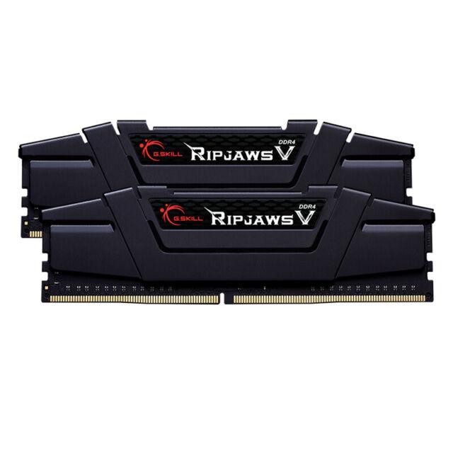 G.SKILL RipJaws V Schwarz 32GB Kit (2x16GB) DDR4-3200 CL16 DIMM Arbeitsspeicher