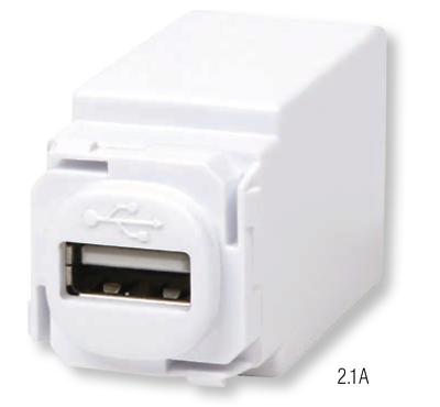 LUMEX LED LIGHTING Hi-Power™ USB Charger Module USB MECHANISM 2.1A WHITE