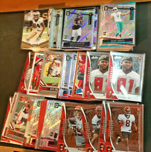 2019-Panini-Unparalleled-Donruss-cards-Football-Rookies-Pick-Your-RC-Team-Lots