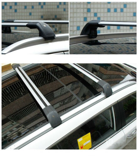 Crossbar Cross bars Fits for Volvo XC60 2018-2020 Roof Rack Rail Baggage Carrier