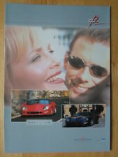 CALLAWAY IVM C12 Coupe & Convertible orig c2000 brochure - Corvette power