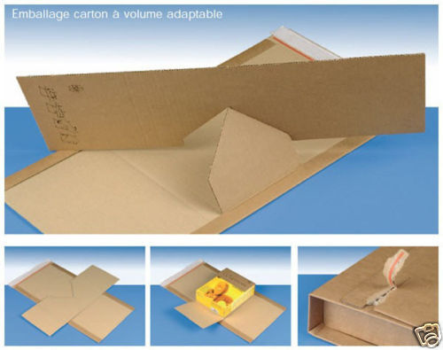 100 Emballages carton adaptables 350x320 Varia X-Pack 5