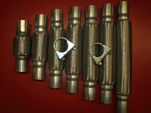 Hosenrohr  Montage ohne Schweißen Ø50 280mm 380mm Flexrohr