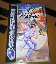 ## Street Fighter Alpha - SEGA SATURN Spiel - NEUWARE / NEW / MIT SIEGEL ##