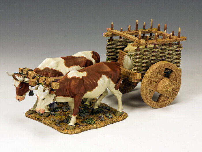 KING & COUNTRY LIFE OF JESUS LOJ020 OX CART MIB