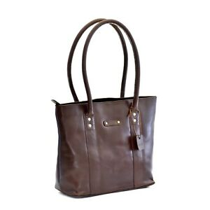 a6c753b4 Details about Style n Craft 392004 Ladies Tote Bag in Full Grain Dark Brown  Leather