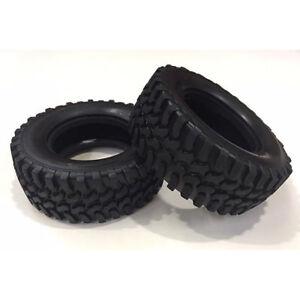 TAMIYA-54735-Mud-Block-Tires-Tyres-CC-01-2-Pcs-Pajero-Jeep-Land-Cruiser