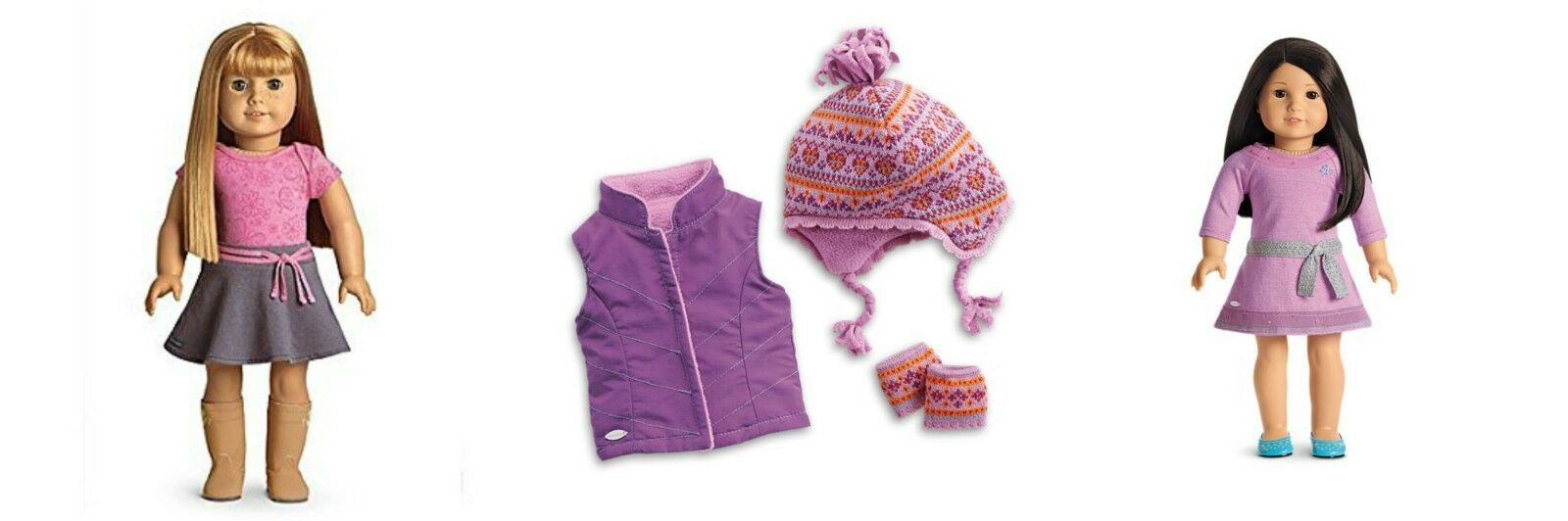 ️ American Girl Doll WARM WINTER  BUNDLE Outfits &ACCESSORIES New in Boxes  ️