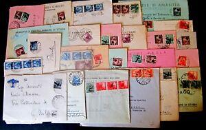 Repubblica-Storia-Postale-Democratica-Lotto-da-120-buste-del-settore-1