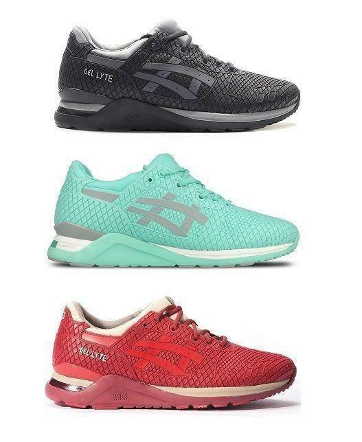 Asics Gel-Lyte Evo Evolution Trainers - Adult + Junior sizes - Size 3 -11.5