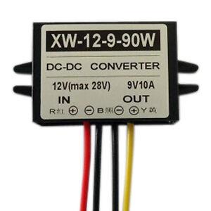 DC 12V 24V To DC 9V 4A 36W Step Down Power Supply Converter Regulator Module