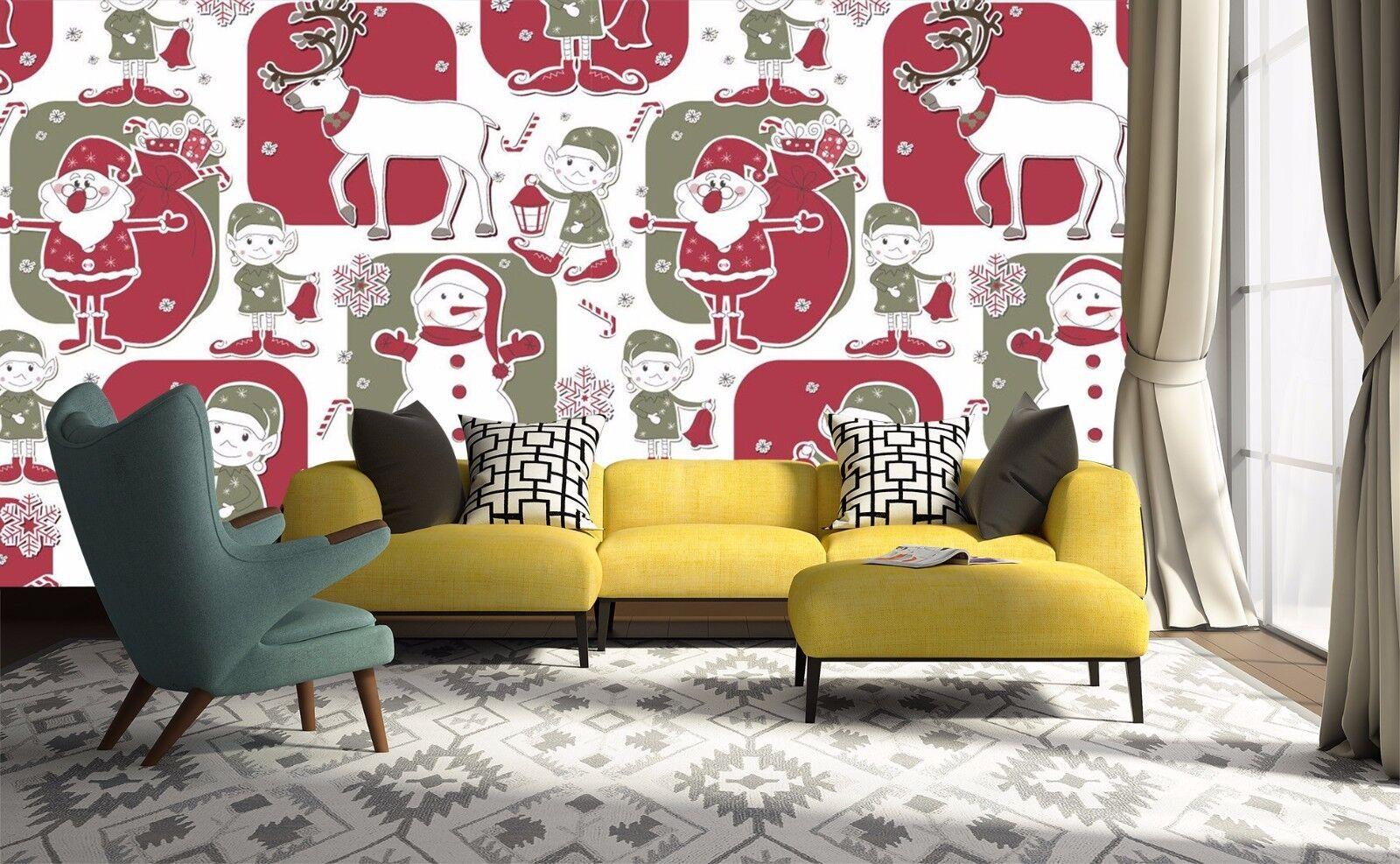 3D Christmas Style 753 Wall Paper Murals Wall Print Wall Wallpaper Mural AU Kyra