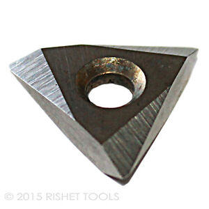 RISHET TOOLS 11024 TNMG 321 C2 Uncoated Bright Finish Solid Carbide Inserts Box of 10