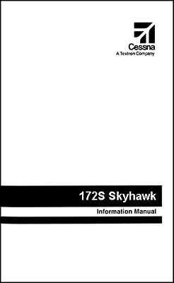 Cessna Skyhawk Airplane Information Owner/'s Manual 1973 POH - 172M