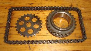 Honda CB-1_400 F_NC27_Antriebs - Kette + Zahnräder für Ölpumpe_parts for oilpump