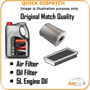 AIR OIL FILTERS AND 5L ENGINE OIL FOR VOLVO S60 2.4 2001-2010 960 |
