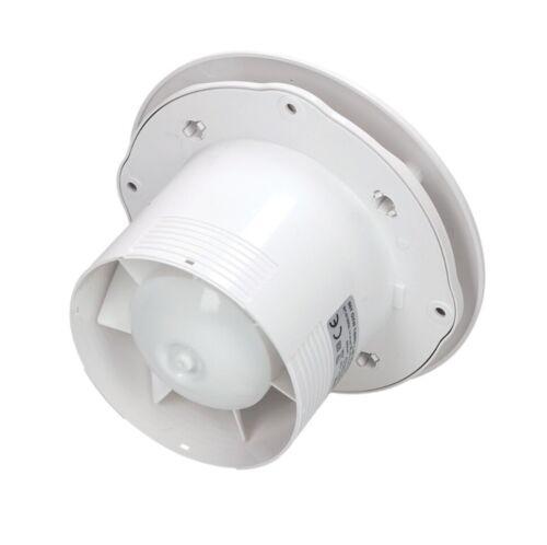 Salle de bains plafond Hotte aspirante 150 mm avec minuteur et roulement à billes Ventilator