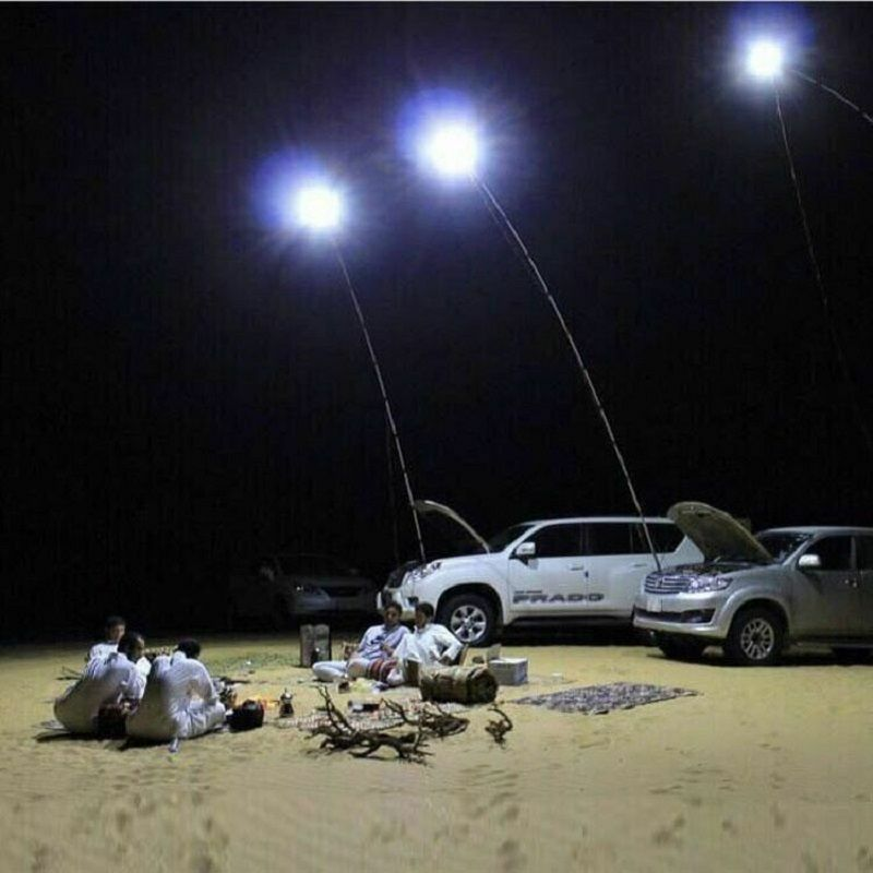 Outdoors Telescopic Rod Remote Control  Camping Energy Saving Lamp LED Light 3.7M  promotions