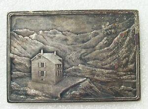 Medaille Club Alpin Francais Section Lyonnaise Fete Alpine Des Evettes 1907