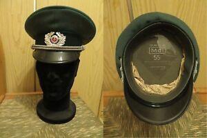 DDR Berretto ufficiale esercito NVA anni 80 DDR officer Army cap - Italia - DDR Berretto ufficiale esercito NVA anni 80 DDR officer Army cap - Italia