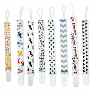 Toddler Baby Practical Dummy Pacifier Clip Chain Holder Soother Nipple Strap New