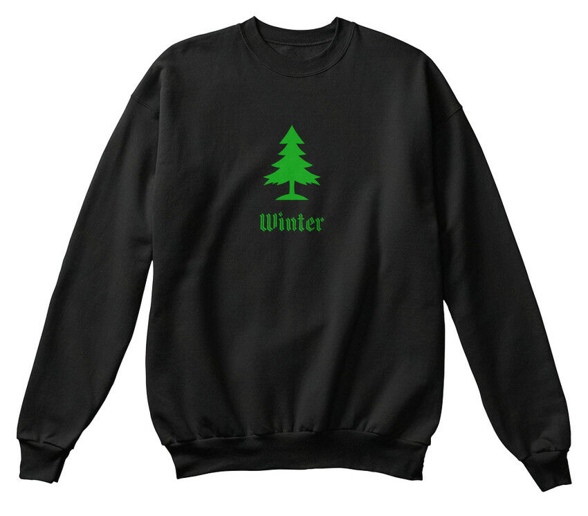 Winter Family Christmas Tree Simple Standard Unisex Sweatshirt     | Deutschland Shops
