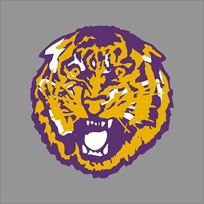 LSU Tigers NCAA College Vinyl Decal Sticker Car Window Wall
