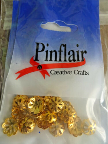 Pinflair-Or-filigrane fin Caps-Sac de 2gm
