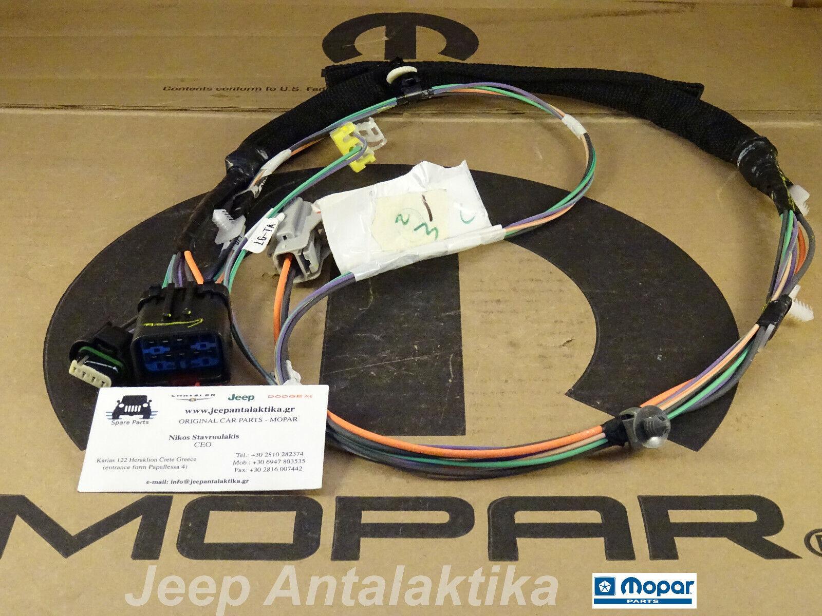 Front Right Door Wiring Jeep Wrangler JK 07-10 56051707AF New Genuine Mopar  | eBay