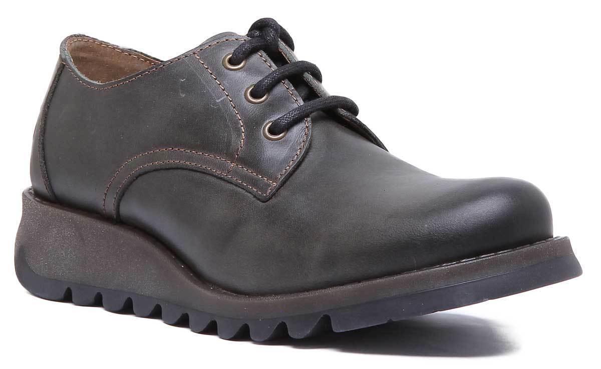 Fly London Simb389 Womens Diesel Leather Matt shoes UK Size 3 - 8