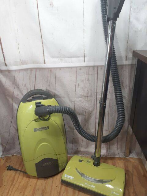 Kenmore Vacuum Model 116 Canister Lime Green Pre-owned