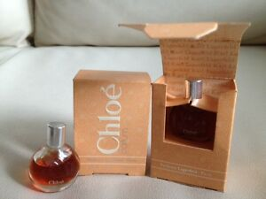 Vintage Chloe Parfum Karl Lagerfeld 2 Mini Miniature Perfume 18fl