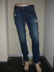 Jeans-uomo-mod-Skinny-con-rotture-Abercrombie-amp-Fitch