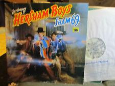 SHAM 69 Adventures Of Hersham Boys LP NM UK 1979 Polydor Gatefold punk rare!!
