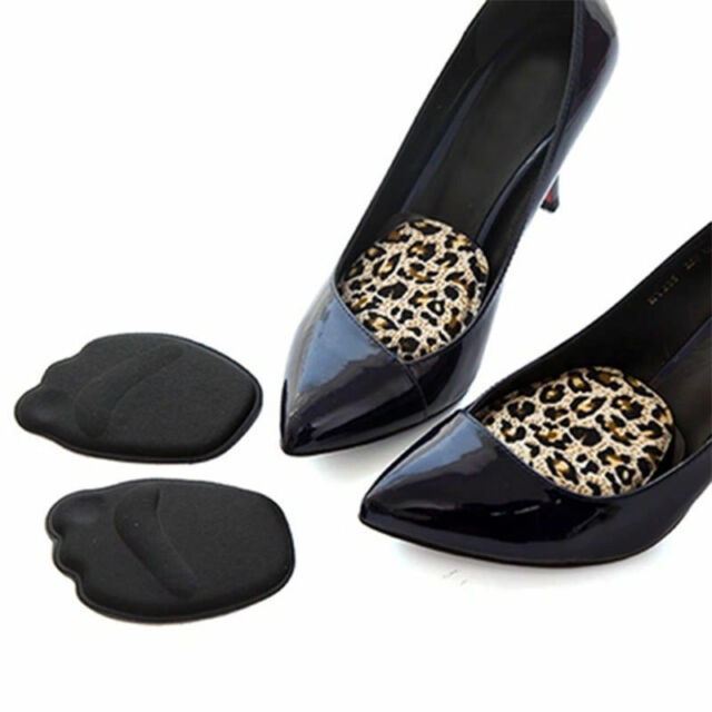 New 1 Pair High Heel Shoes Paw Half Front Cushion Insole Foot Care Shoe Pads.