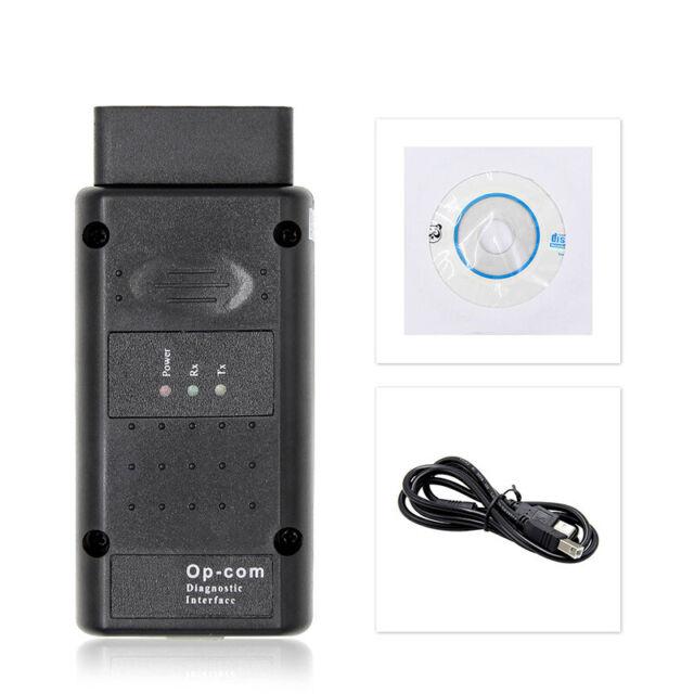 Diagnostic Scanner Outil Diagnostique Voiture USB+CD V1.95 OPEL COM OBD2