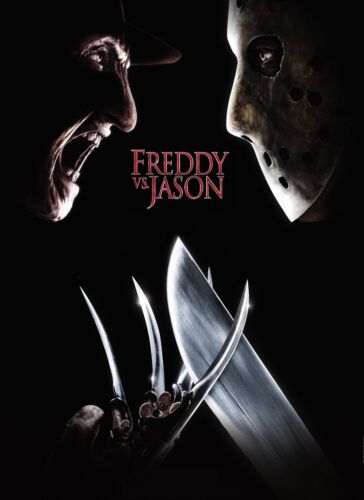 Jason 2003 Poster in A0-A1-A2-A3-A4-A5-A6-MAXI C173 Freddy vs