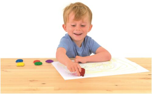 Galt 6 FIRST CRAYONS Kids Art Craft Toy BN