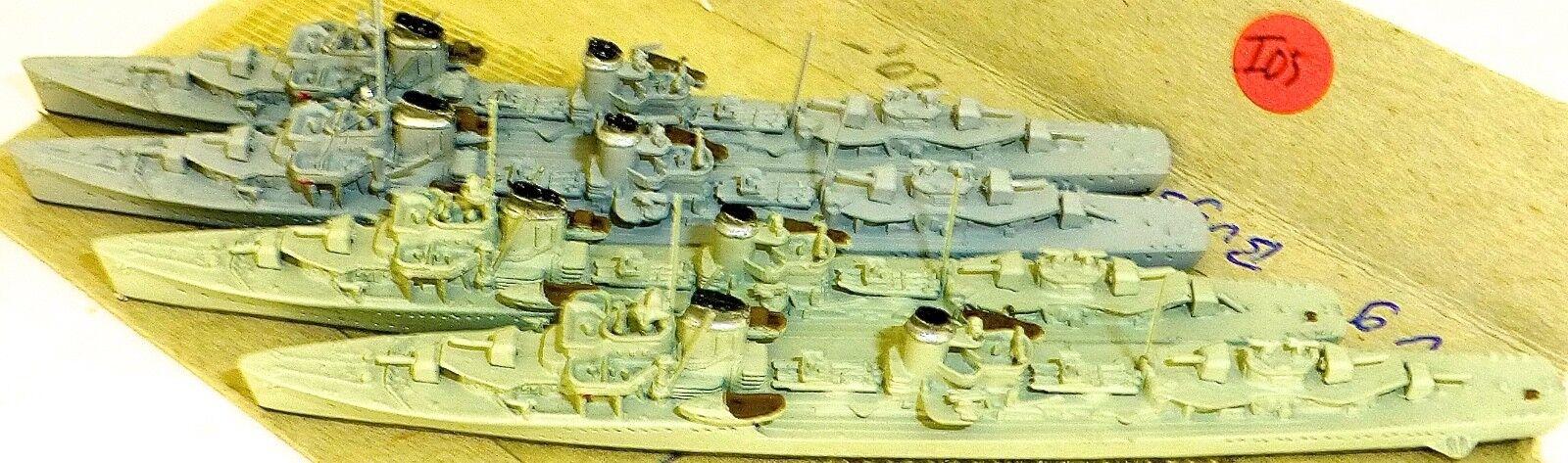 40% de descuento 4 unidades z 1-4 destructores Neptuno 1065 barco modelo 1 1 1 1250 shpi 05 Å   marca famosa