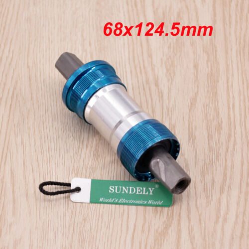 68mm MTB Road Bike Bicycle Sealed Square Taper Bottom Bracket Bolts Accessories