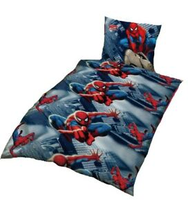 Marvel Bettwäsche Spiderman Tension 140x200 Kissenbezug 70x90