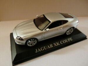 DCD12E-voiture-1-43-altaya-IXO-DREAM-CARS-boite-vitrine-JAGUAR-XK-COUPE