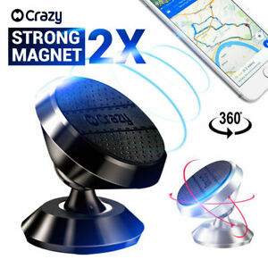 2-X-Universal-Car-phone-Holder-Mount-Cradle-Magnetic-for-iPhone-Galaxy-GPS