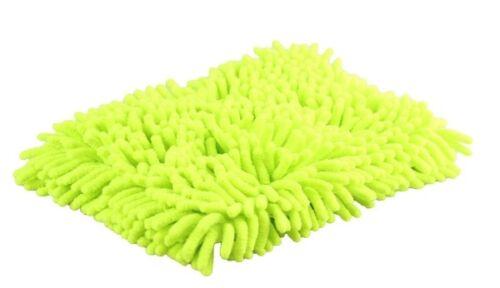 Chemical Guys Large Chenille Wash Pad grün Schwamm Waschschwamm