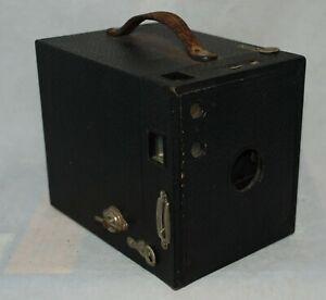 Vintage Box Camera Kodak No 2 Brownie Model F Burgundy 120 ...  |Old Camera Film Roll Boxes