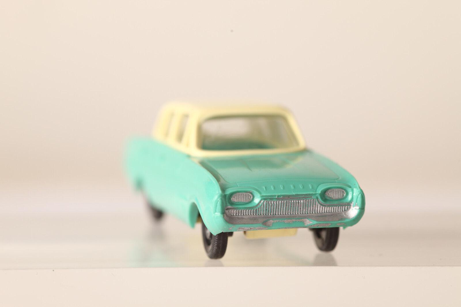 Siku Plastique Ford 17 M Baignoire 1960 V172 Beige Vert Clair Clair