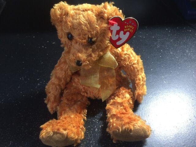 Ty Teddy The 100th Anniversary Bear Original Beanie Baby 2002 Retired MWMTS a8fd06275e2d
