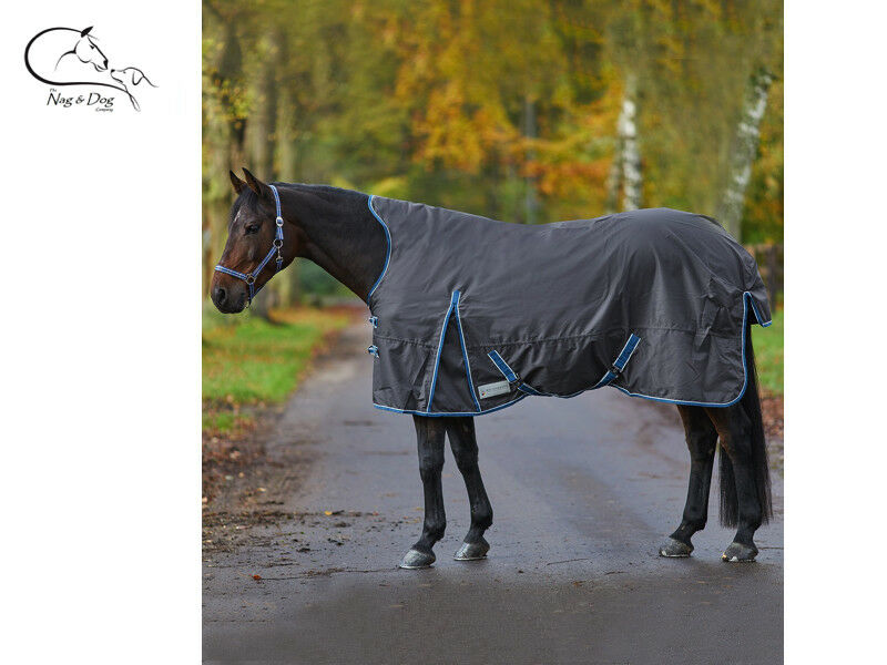 Waldhausen Mediumweight Mid 200G Fill Turnout Rug Rain Sheet HIGH NECK FREE P&P